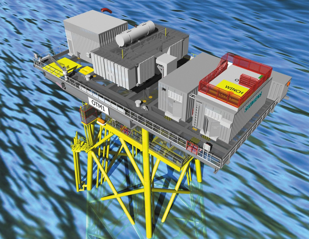 Siemens wins order for its largest offshore grid connection in the UK to date