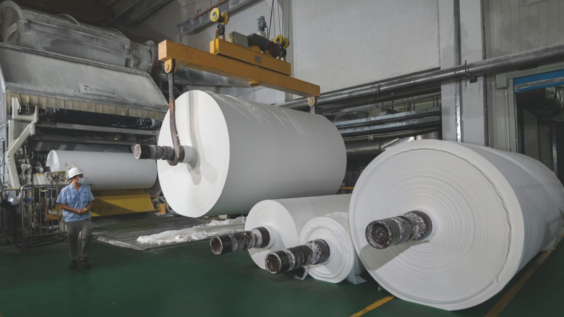 Shanghai Orient Champion Paper on-site power generation
