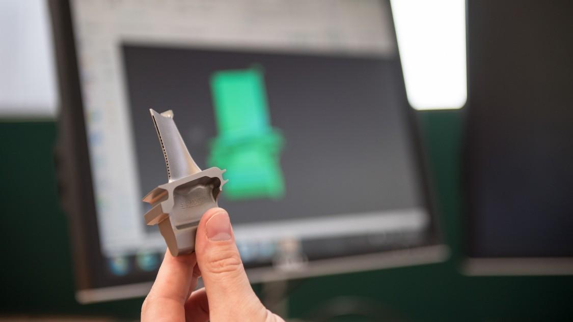 3D-printed blade