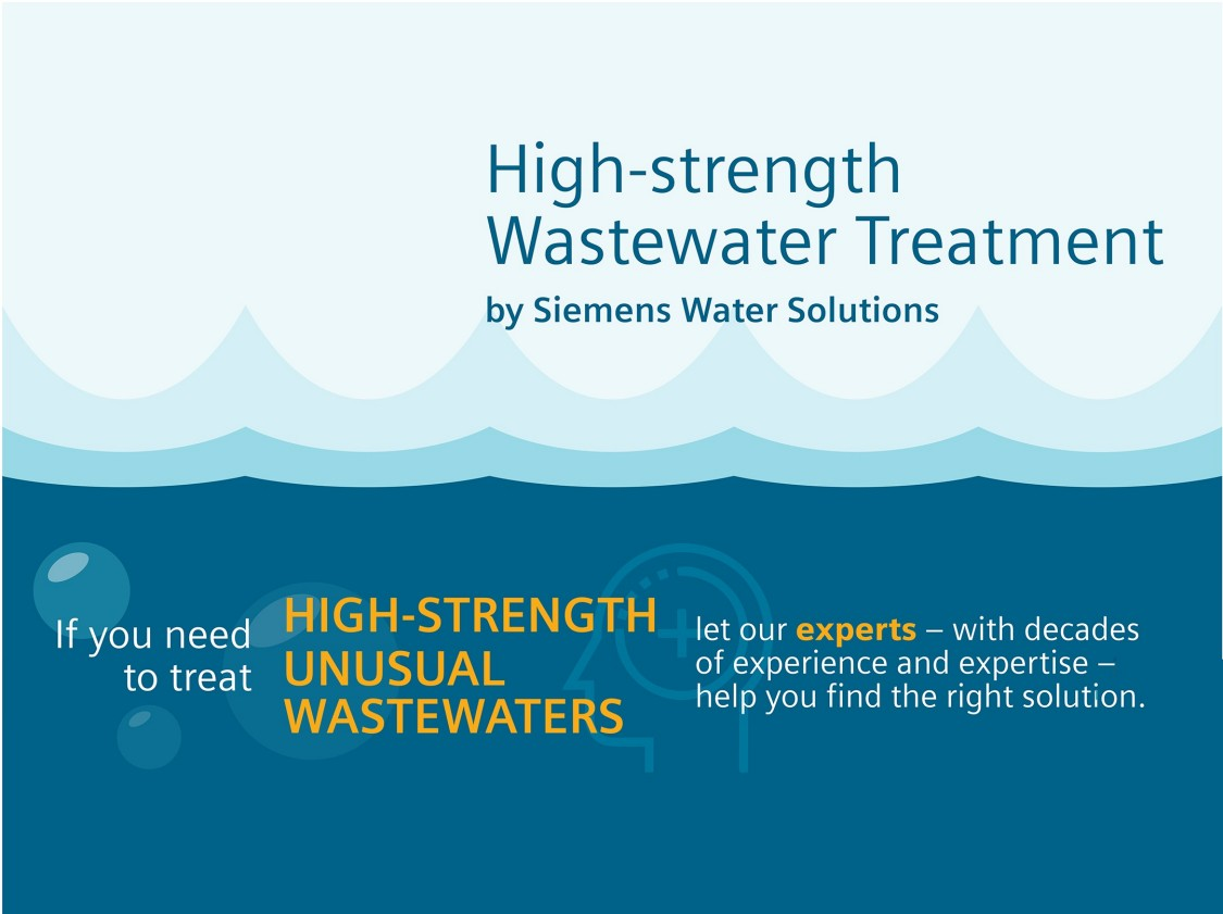 Water solutions is the expert of treating high-strenght unusual wastewaters