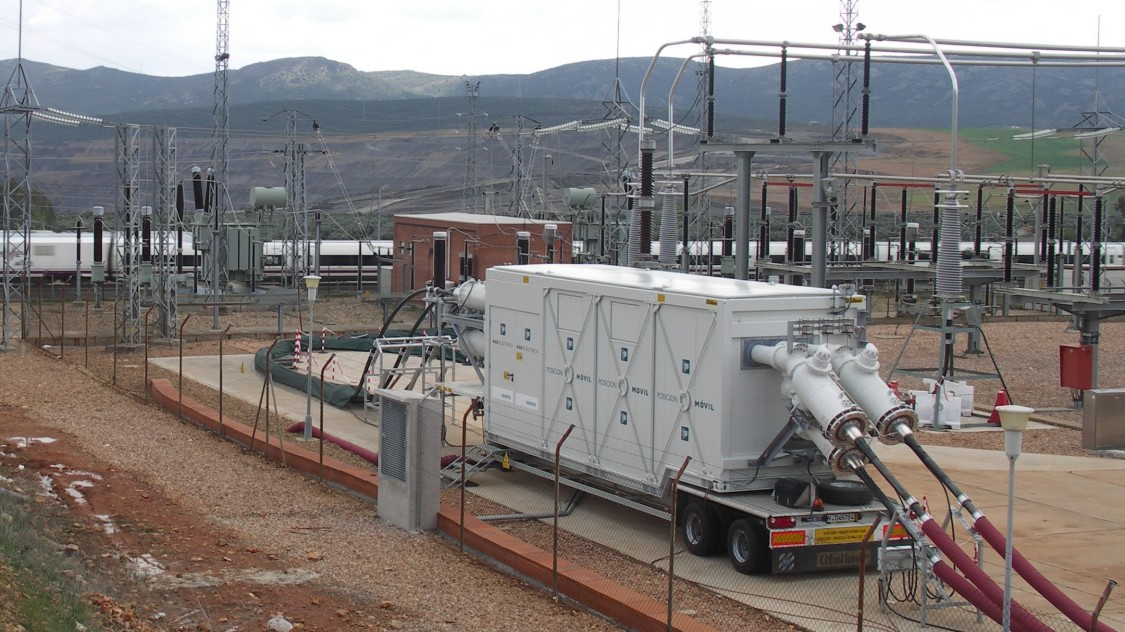 Portable power substations | High-voltage systems for substations | Siemens  Energy Global