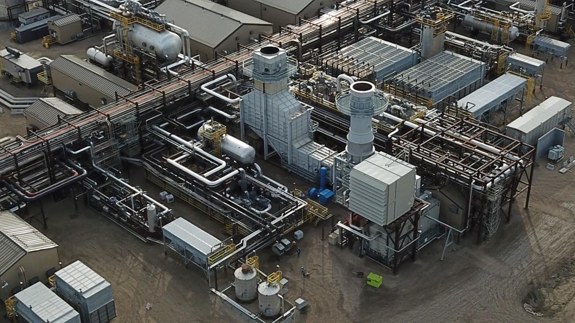 Encana gas plant