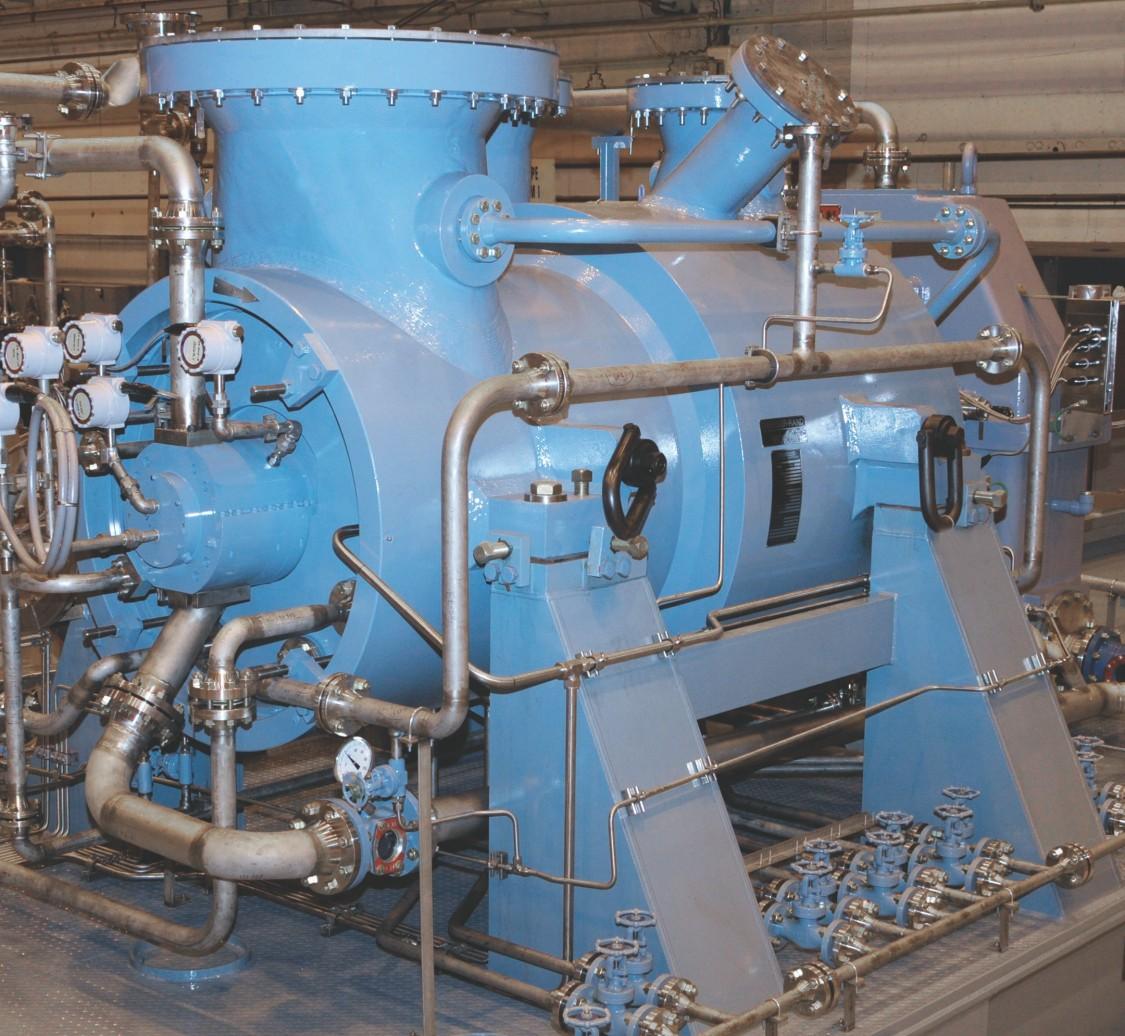 Single-shaft centrifugal compressor