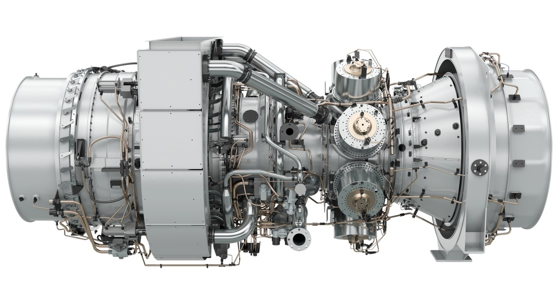 The SGT-A65 gas turbine from Siemens