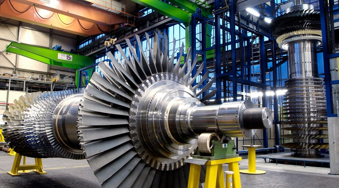 """The """"allrounder"""" among the Siemens Energy gas turbines, the SGT5-4000"""