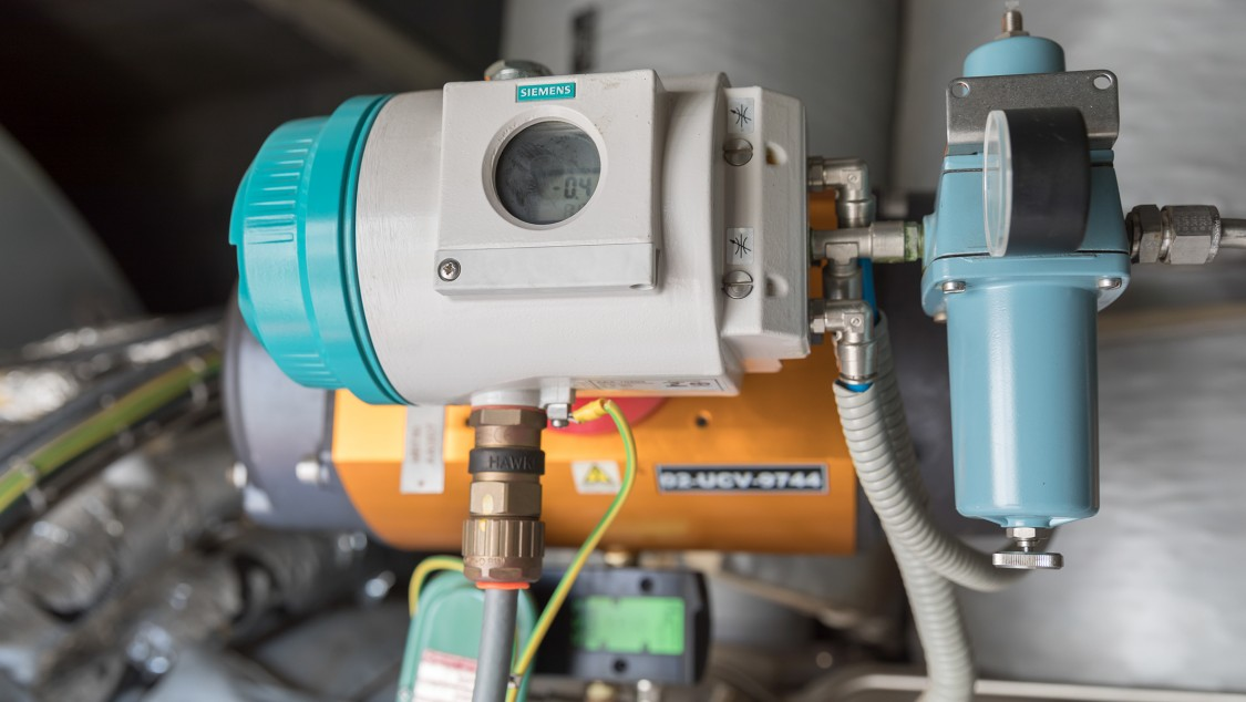 Measuring devices on the gas turbine help optimize all maintenance activities.