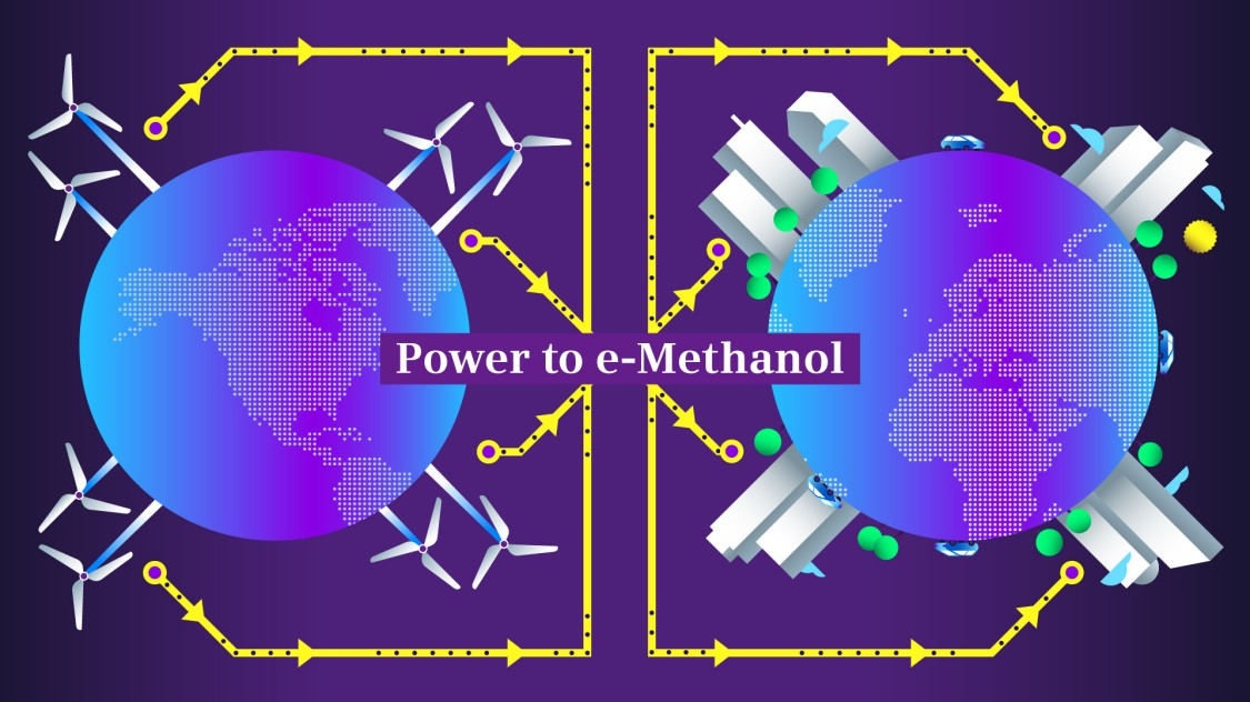 Power-to-methanol