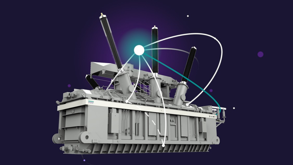model of a Siemens Power Transformer