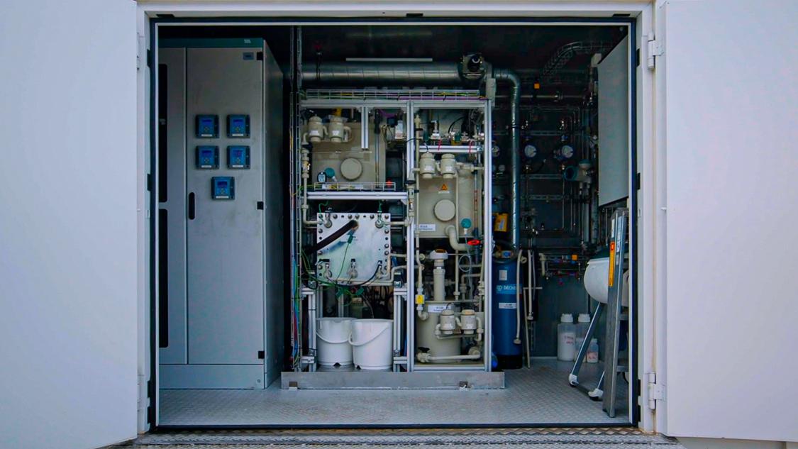 Weltweit erster CO-Elektrolyseur von Siemens Energy