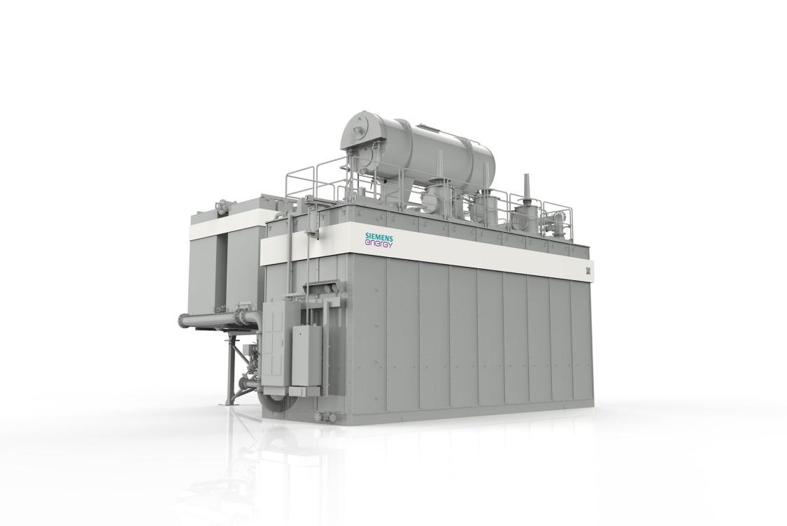 model of a Siemens Reactor