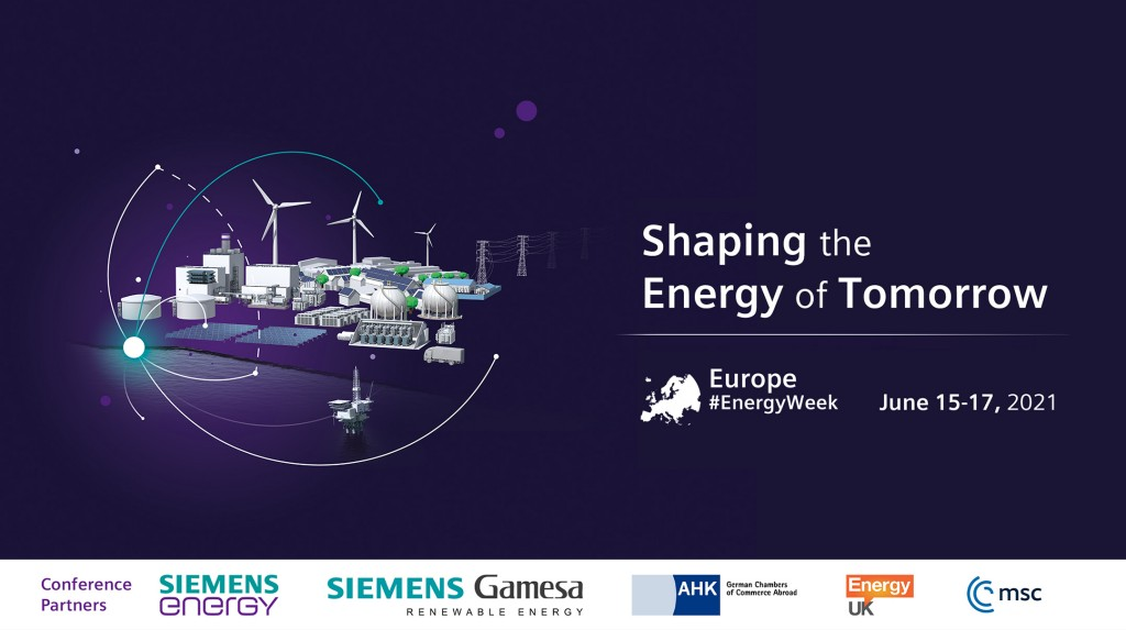 Europe Energy Week brings together world-class line up to discuss energy transition