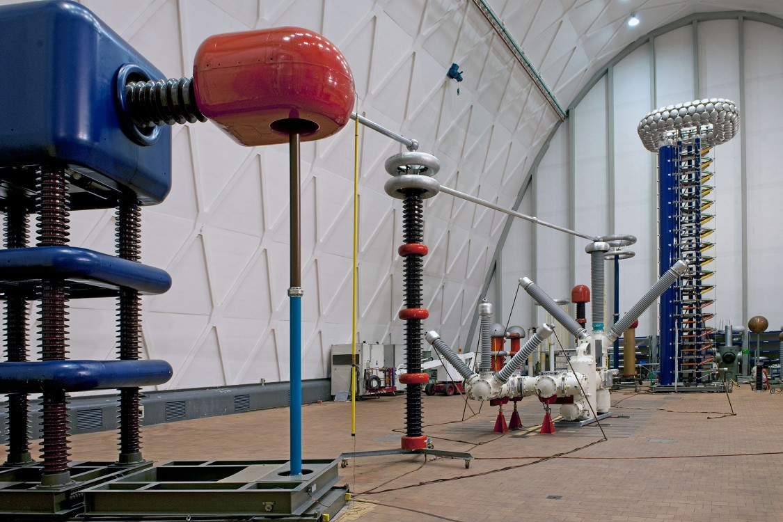 High-Voltage Testing Laboratory