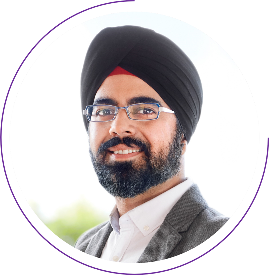Portrait of Puneet Singh from Siemens Energy