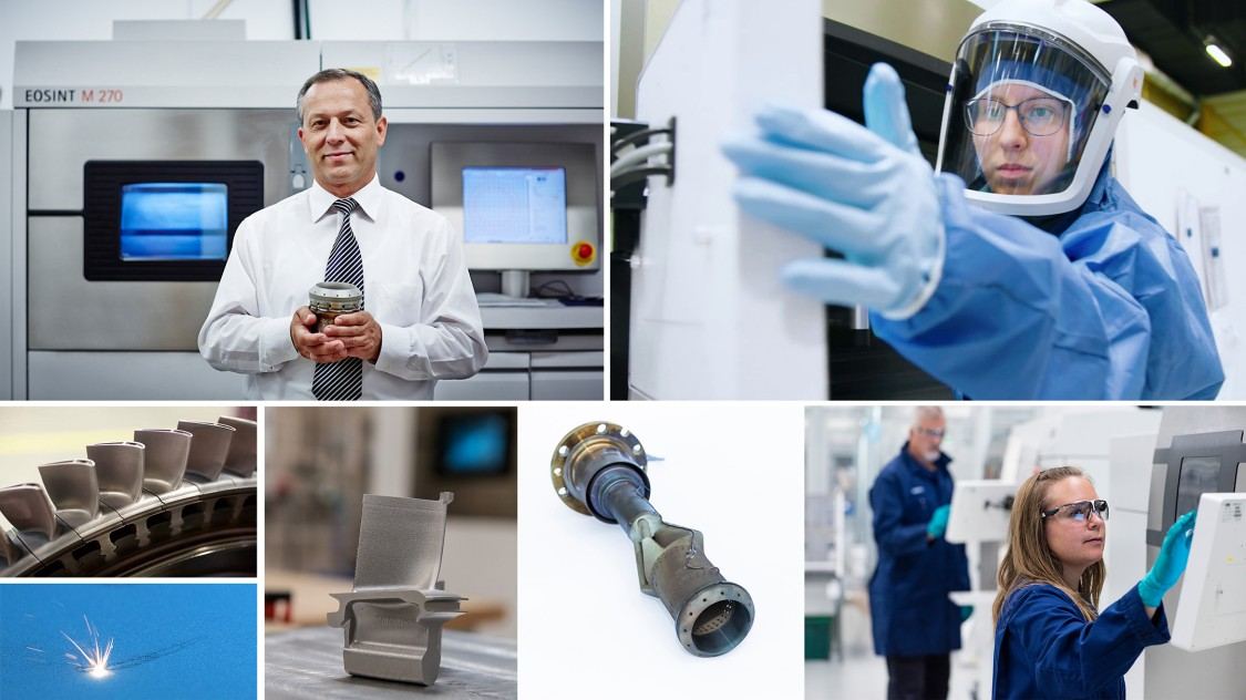 Additive manufactoring at Siemens Energy