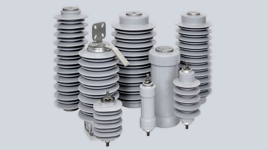 Medium-voltage arresters for distribution networks