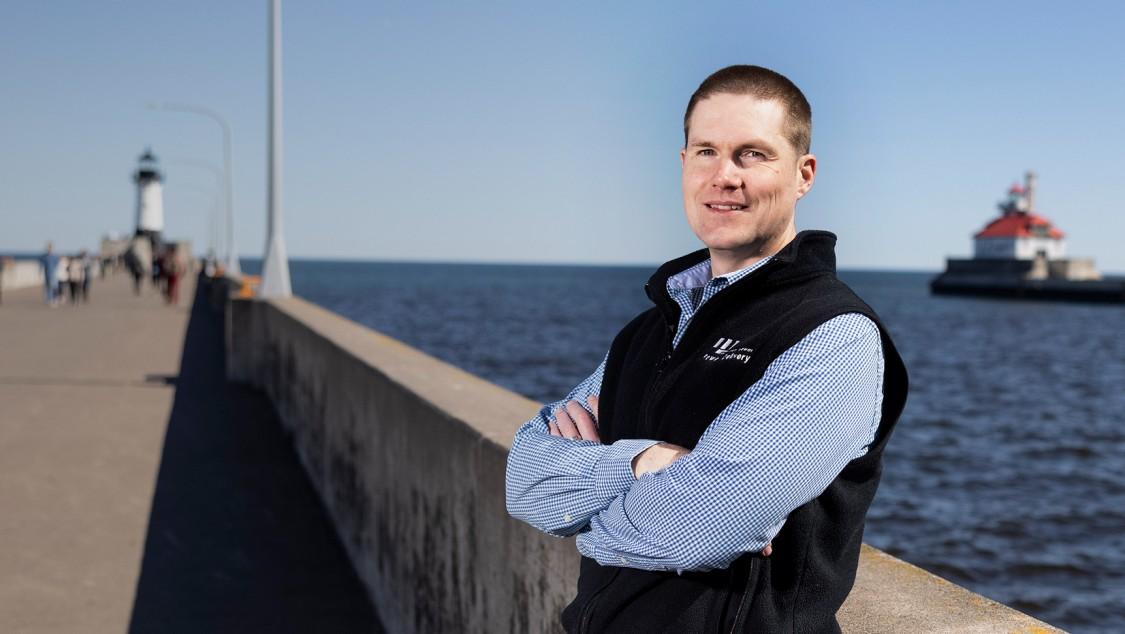 Portrait of Christian Winter – Lake Superior