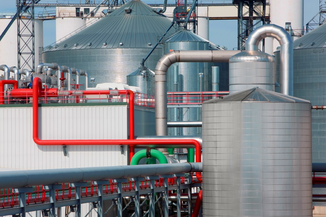 An example of a biorefinery similar to the one UPM-Kymmene is building in Leuna, Germany (photo courtesy of UPM-Kymmene)