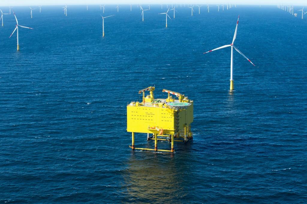 Siemens übergibt mit SylWin1 die dritte Nordsee-Netzanbindung an TenneT