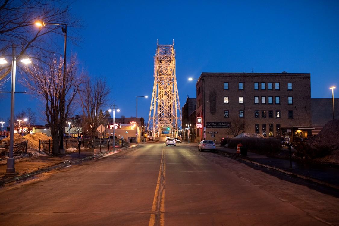 Diluth, MN – bridge shot