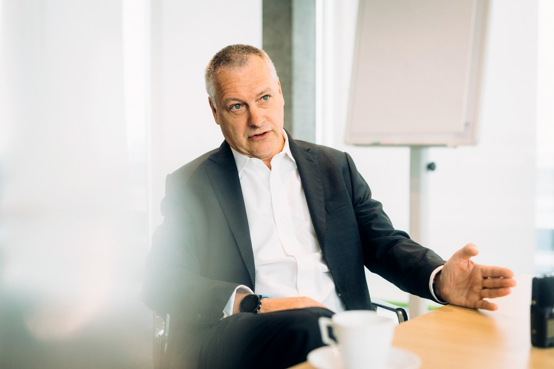 Andreas Schierenbeck Vorstandsvorsitzender Uniper im Gespräch