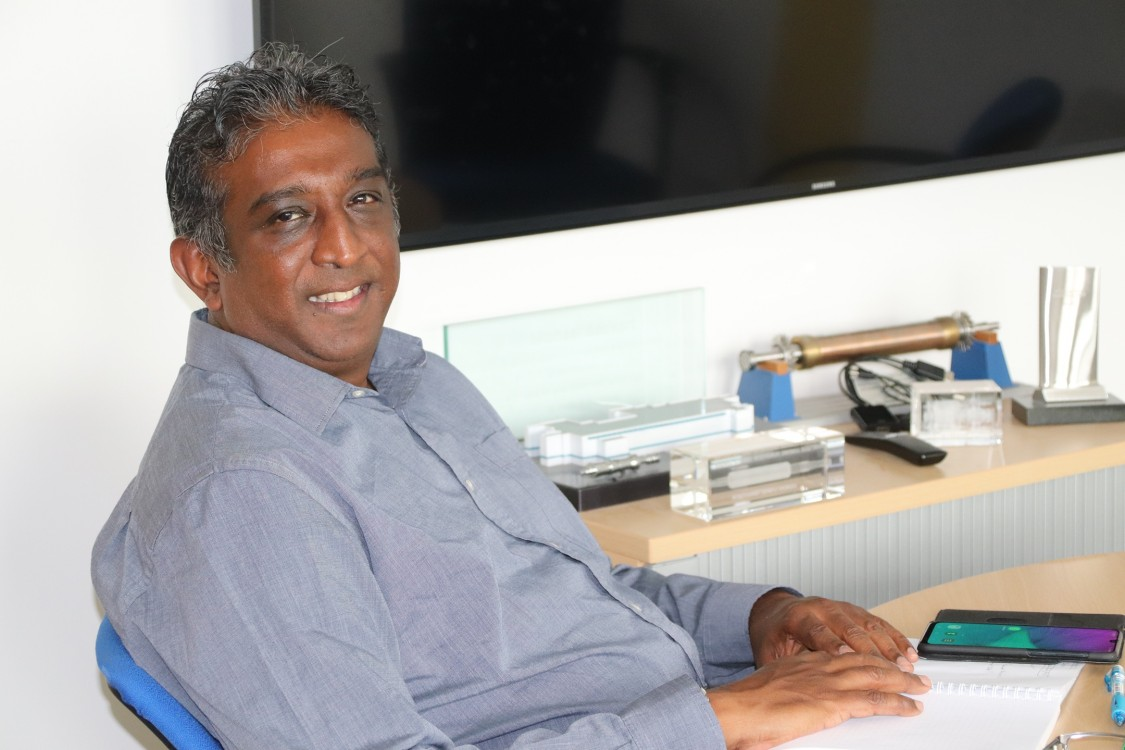Stanley Dorasamy, Senior Global Sales Manager and Fiber Expert at Siemens Energy.