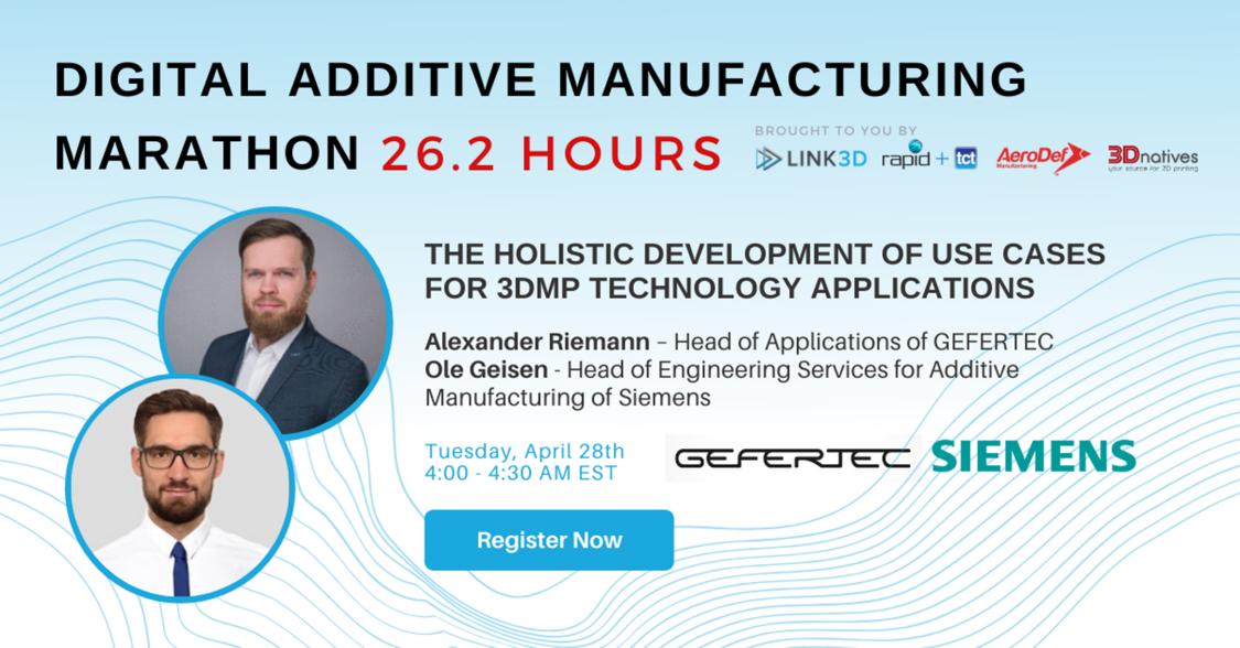 Digital Additive Manufacturing Marathon