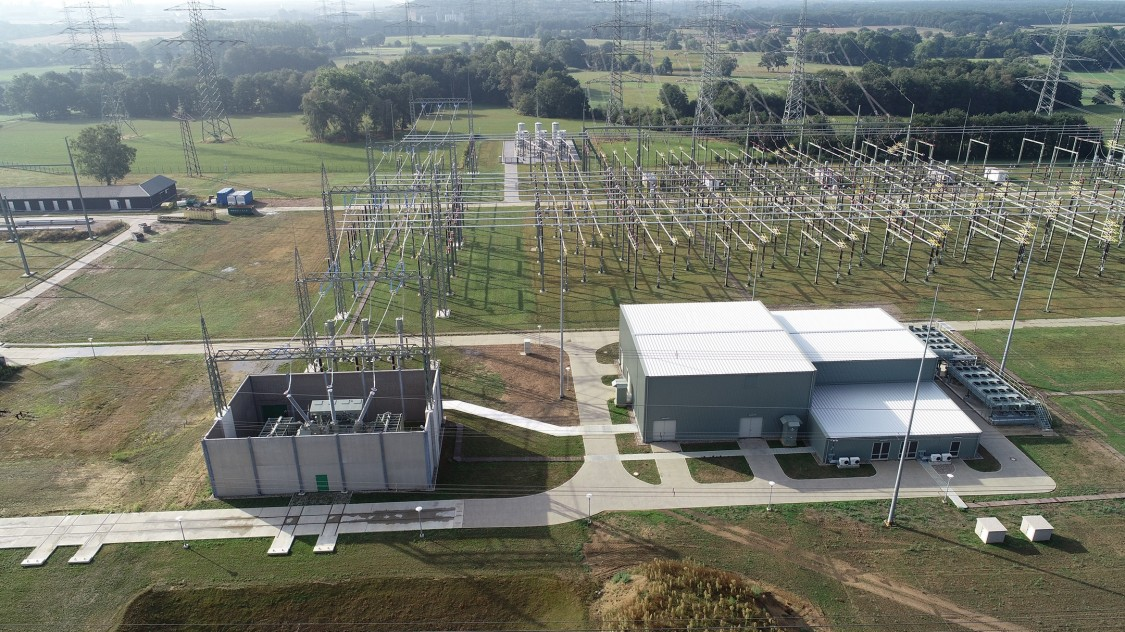 Kusenhorst substation in Germany