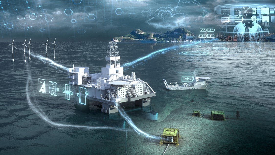 Energy Storage solution for an oil drilling in the ocean