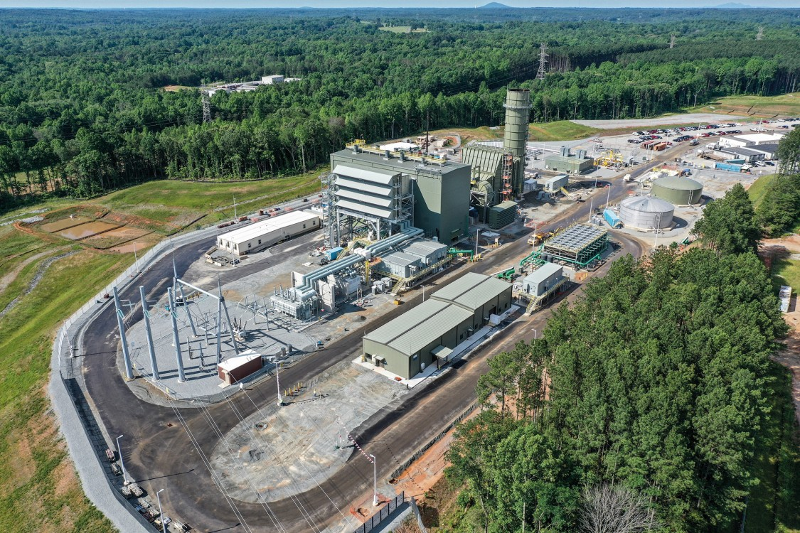 Duke Energy's Lincoln  Combustion Turbine Station in North Carolina