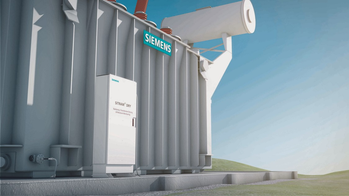 Transformer drying with SITRAM DRY