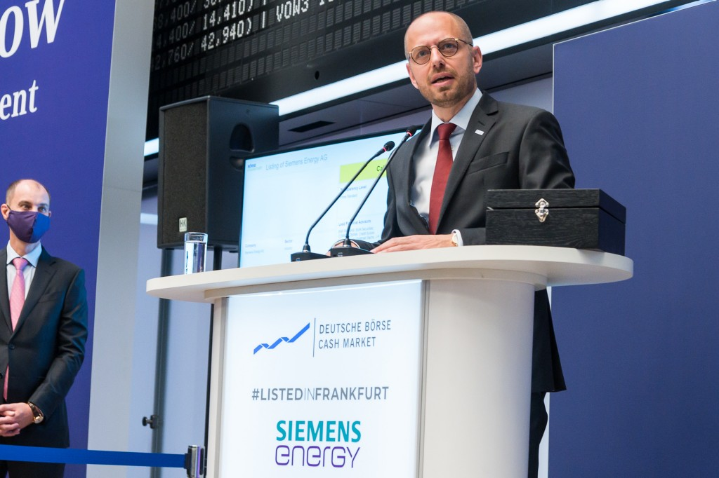 Speech by Christian Bruch, Chief Executive Officer of Siemens Energy AG