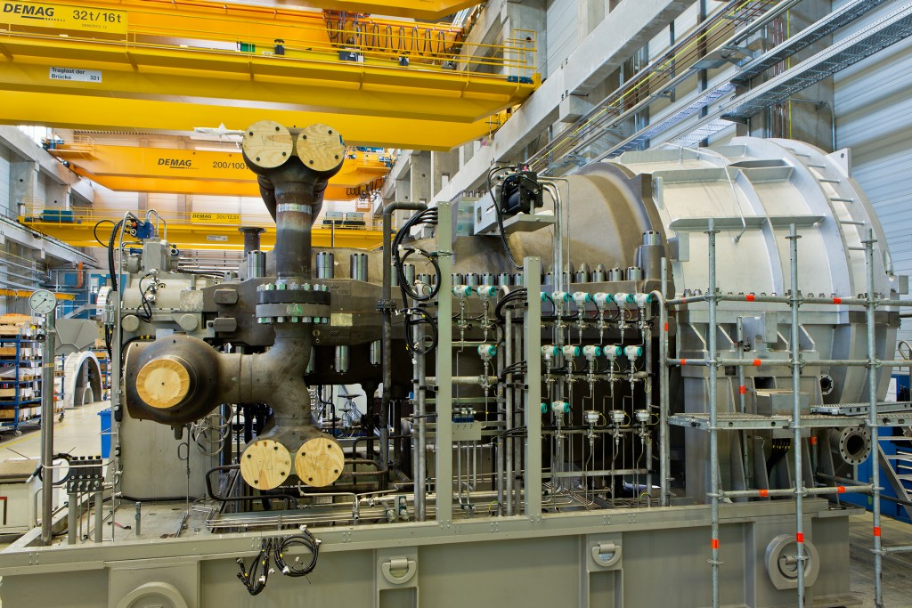 Siemens to supply compression and power generation equipment for Balikpapan Refinery in Indonesia (this photo: steam turbine SST-600)