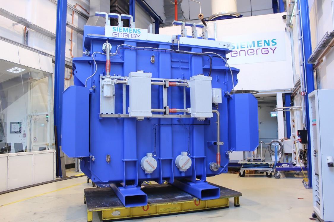 FITformer REN blue design by Siemens GAMESA