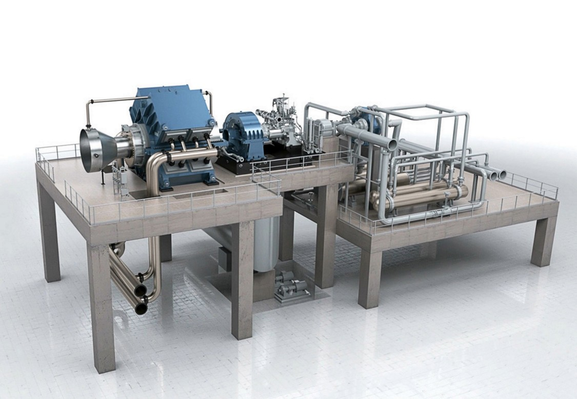 compressor train example