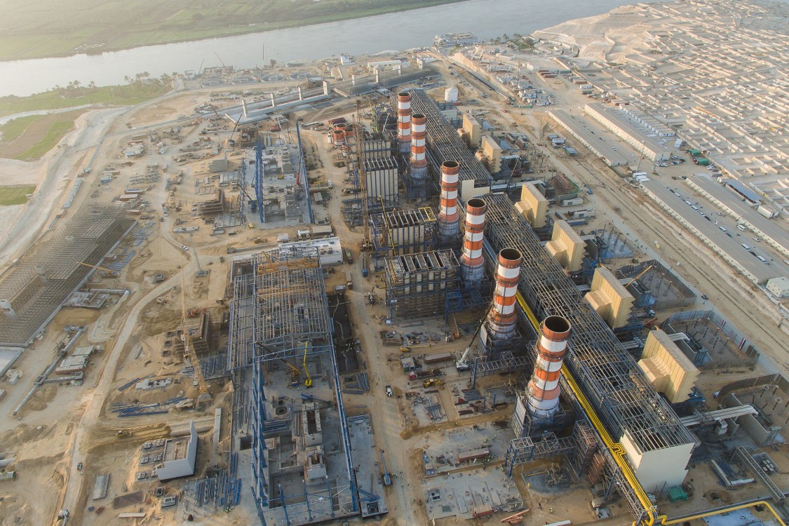 Egypt power plants