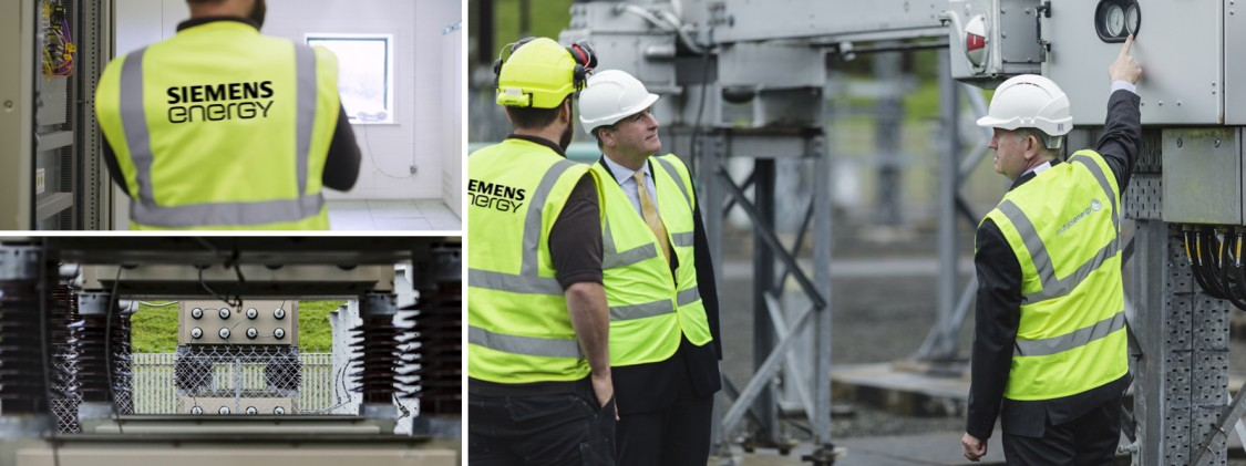 On the Moyle Interconnector refurbishment  project: Tim Cox and Sam Gibson