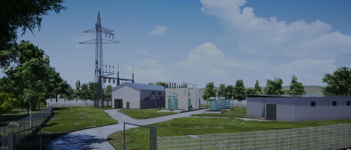 Burladingen substation