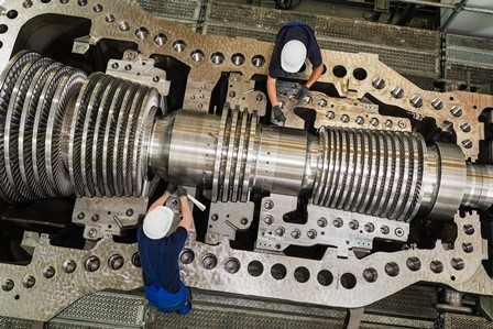 Siemens steam turbine for biomass power plant