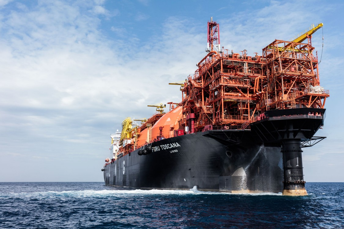 """OLT Offshore LNG Toscana S.p.A. (OLT) has developed and is now running the """"FSRU Toscana"""" as an LNG terminal for regasifying imported liquefied gas"""