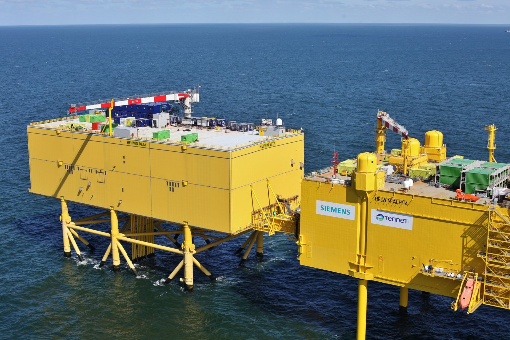 Siemens übergibt mit HelWin2 die vierte Nordsee-Netzanbindung an TenneT