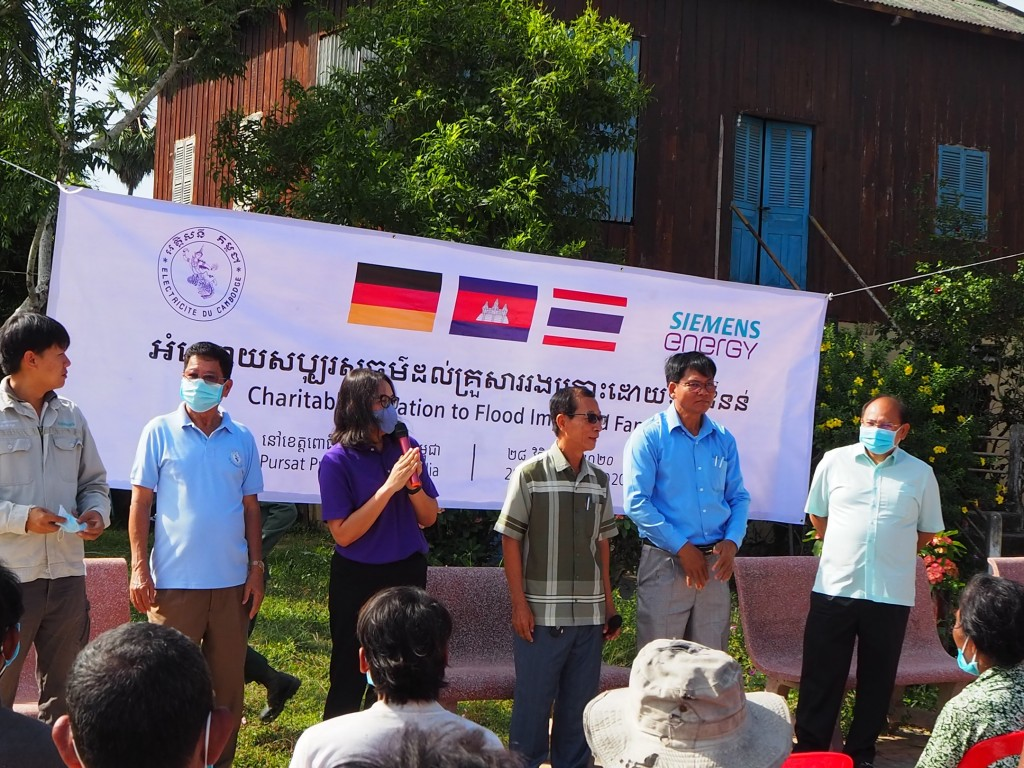 Lifeline Donation to Families Affected by Floods in Cambodia