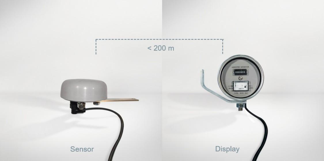 Counter - Sensor and display