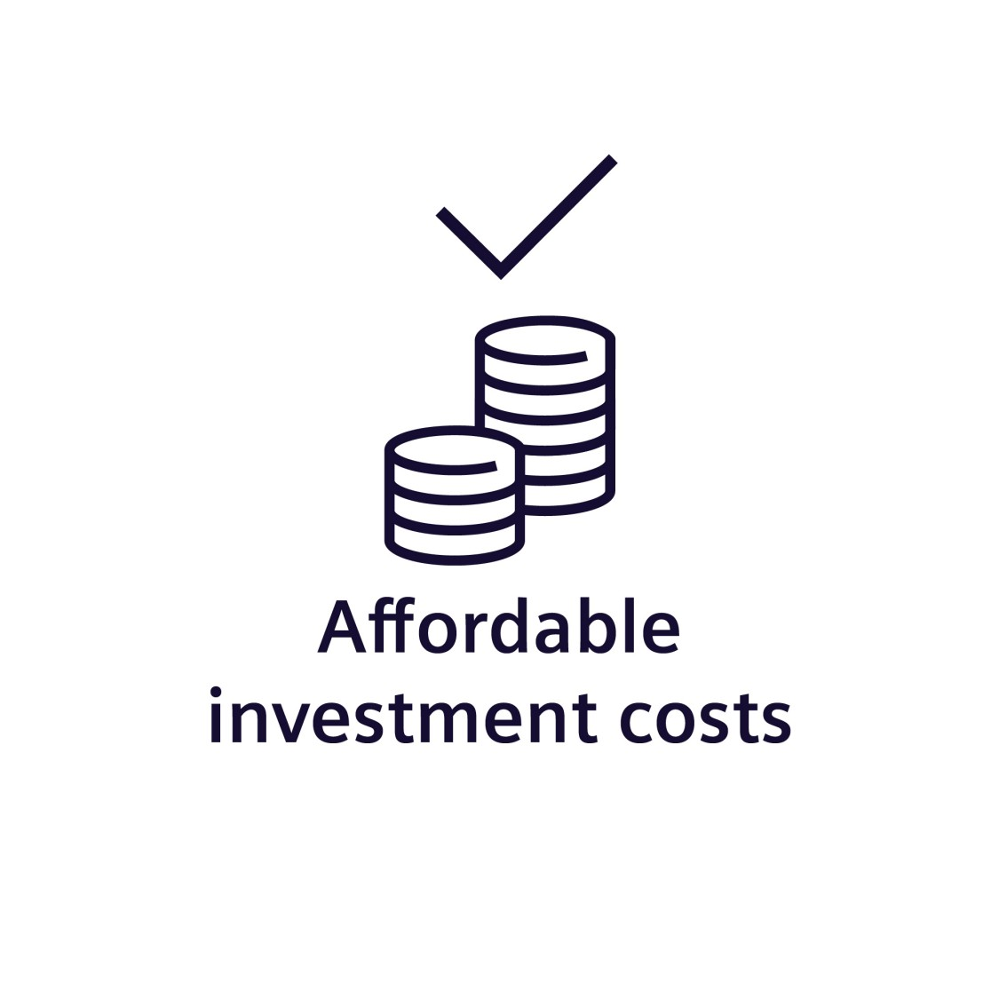 Affordable investment costs