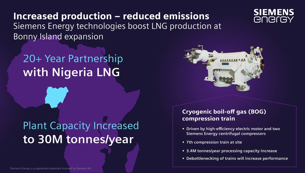 Siemens Energy  to help reduce emissions at NLNG plant