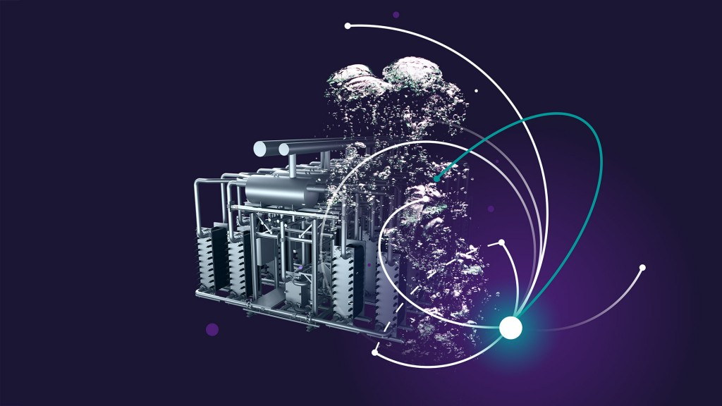 Siemens Energy's Silyzer technology uses electrolysis to generate hydrogen