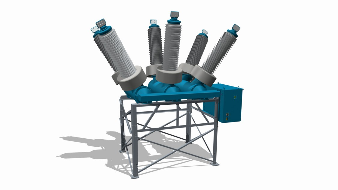 3AV1 Blue dead tank circuit breaker up to 145 kV