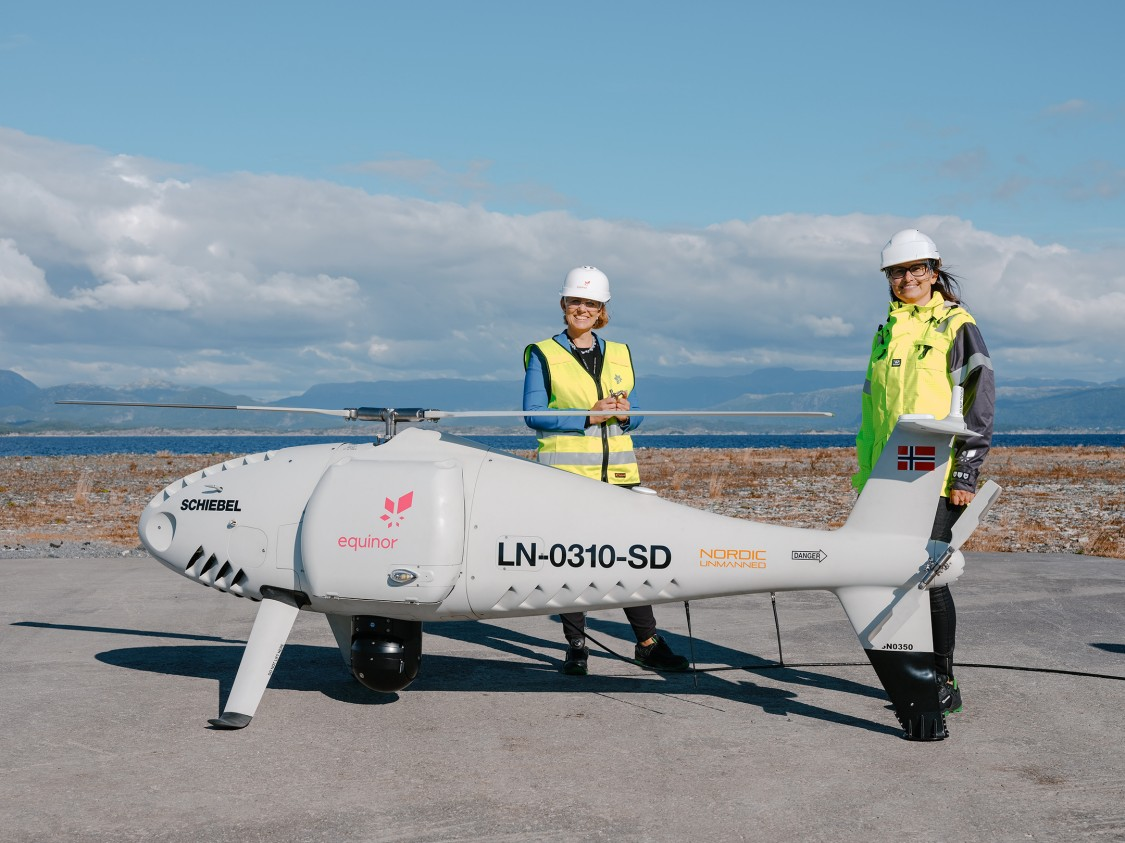 Equinor 3D Spare Parts via drone