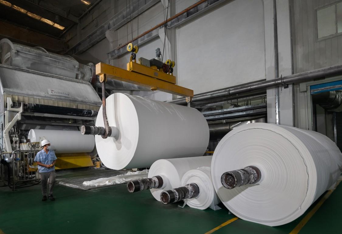 Shanghai Orient Champion Paper production line