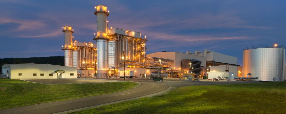 8000H power plant