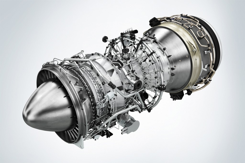 Siemens' new aeroderivative Model SGT-A45 TR gas turbine